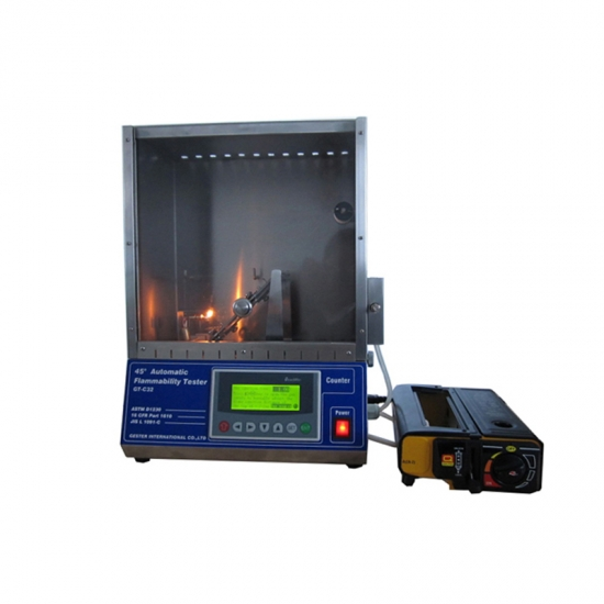 45 Degree Flammability Tester