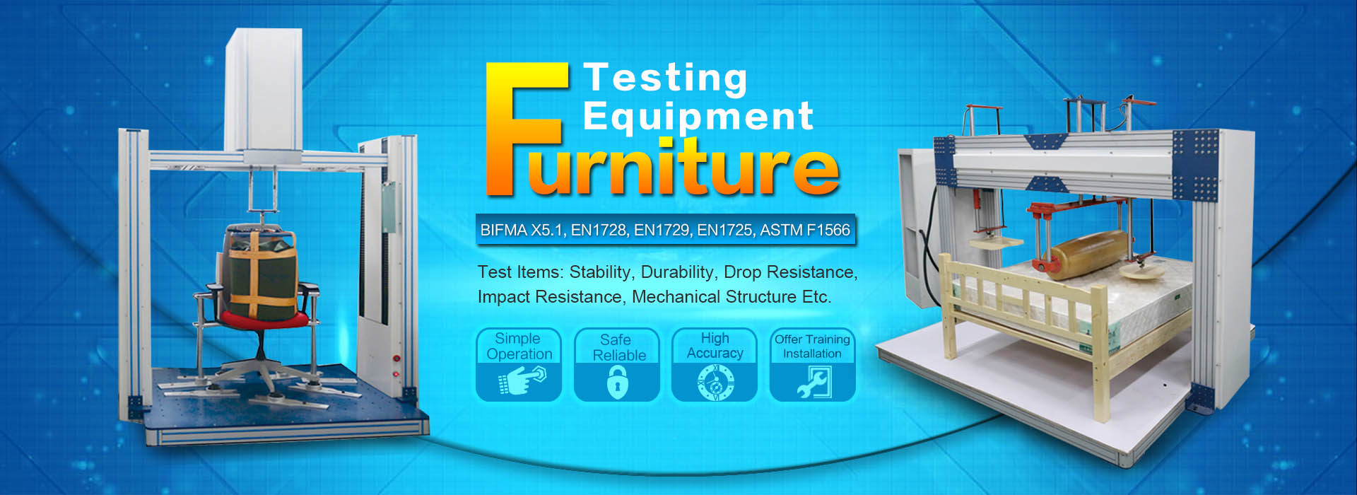 furniture testing equipment